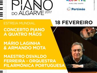Concerto Piano a Quatro Mãos – Mário Laginha & Armando Mota