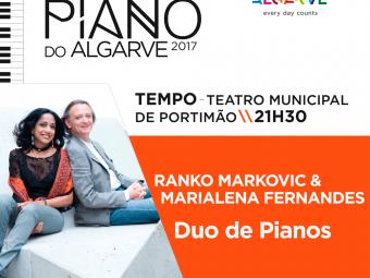 Duo de Pianos – Ranko Markovic & Marialena Fernandes