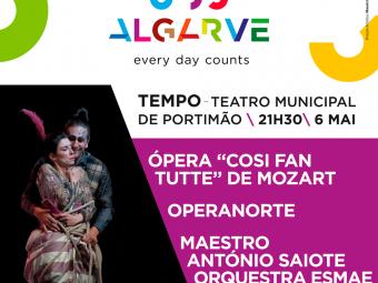"""Ópera """"Cosi Fan Tutte"""" de Mozart"""