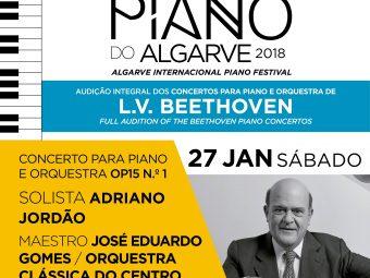 Concerto para Piano e Orquestra OP15 Nº1 – Solista Adriano Jordão